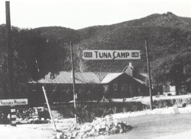 Tuna Canyon CCC camp