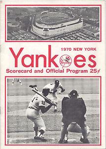 yankees scorecard
