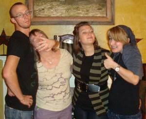 My kiddos and me, circa 2011.
